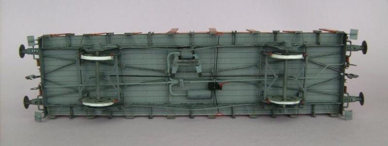 Rungenwagen der DRG von HS-Modellbau, 1:45 Bild7247
