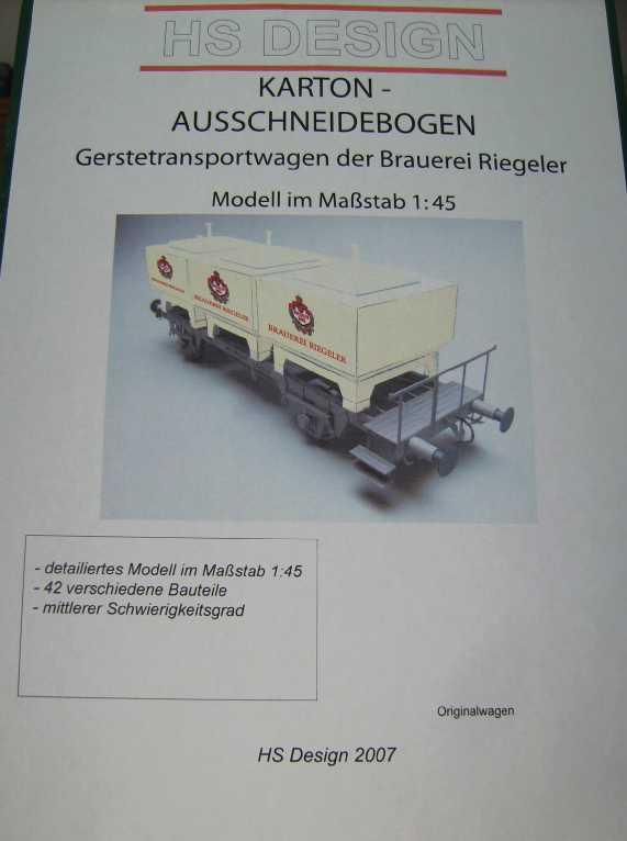 Behältertragwagen in 1:45 von HS-Design Bild7357