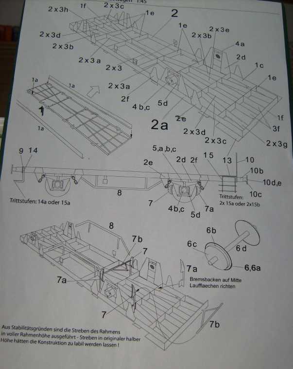 Behältertragwagen in 1:45 von HS-Design Bild7358