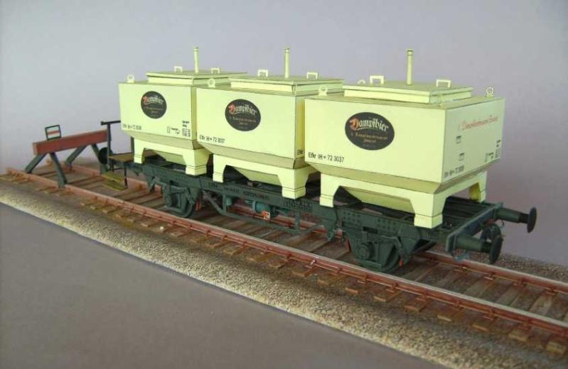 Gerstetransportwagen der 1.Dampfbierbrauerei Zwiesel       in 1:45 von HS-Design Bild7366