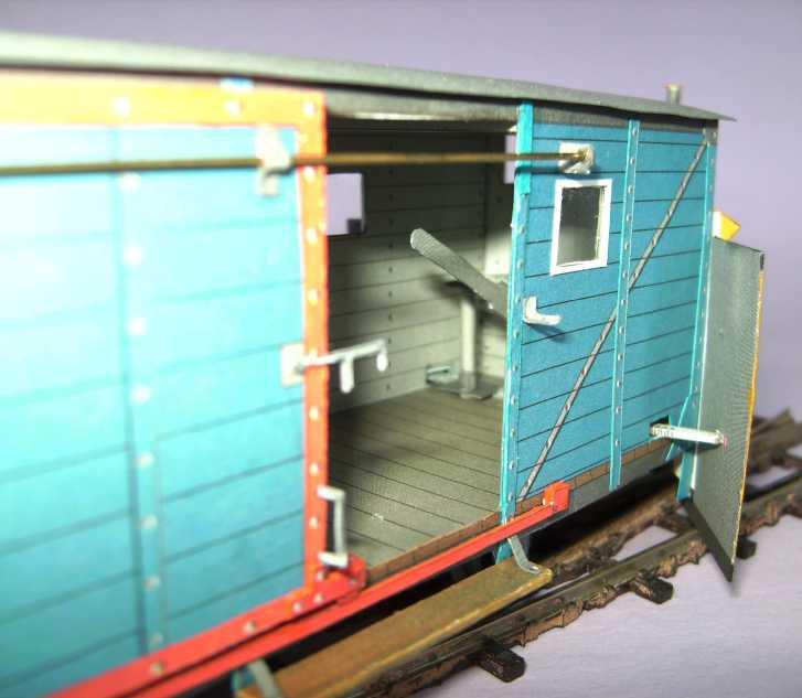 Schmalspurschneepflug von DELTA-T, 1:45 Bild7428