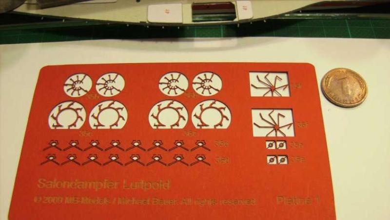 Salondampfer LUITPOLD von MB-Models,1:250 Bild7436