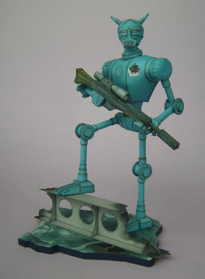 Terranischer Kampfroboter Bild7583