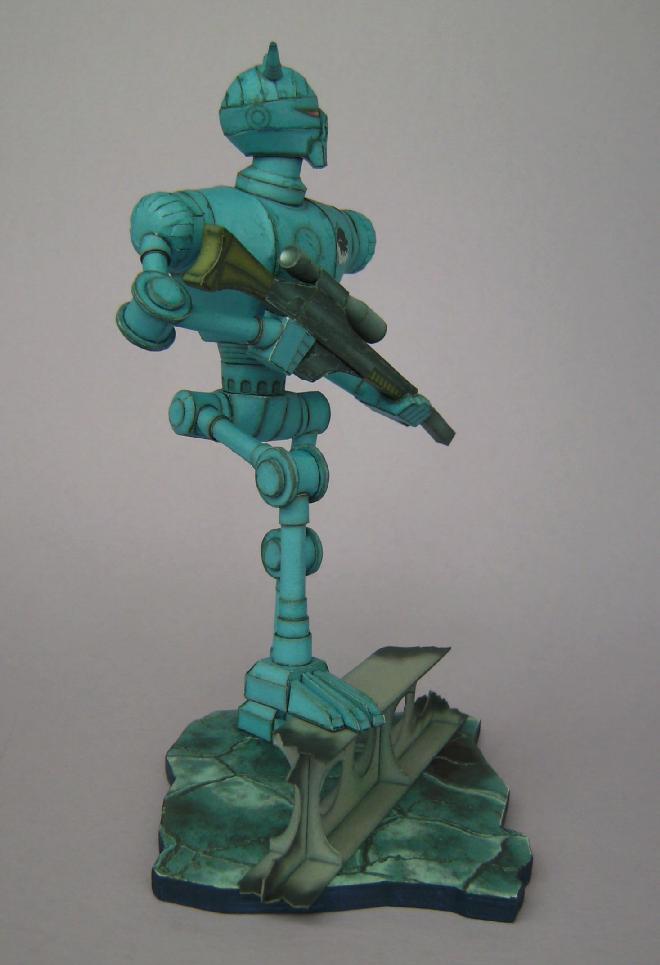 Terranischer Kampfroboter Bild7584