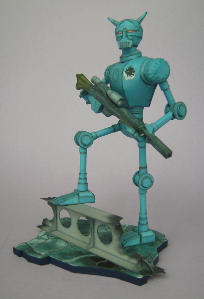 Terranischer Kampfroboter Bild7586