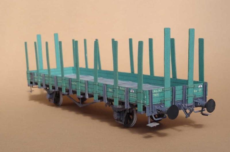 Bayrischer Rungenwagen, 1:45 von HS-Modell Dsc00342