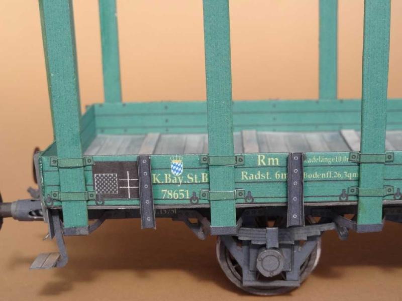 Bayrischer Rungenwagen, 1:45 von HS-Modell Dsc00343