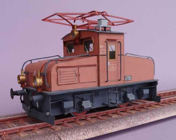E-Lok EP1 der Kgl.Bay.Staatsbahn von HS-Modell, 1:45 Dsc00413