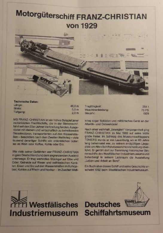 """Motorgüterschiff """"Franz-Christian"""" von HS-Modell in 1:250 Dsc02240"""