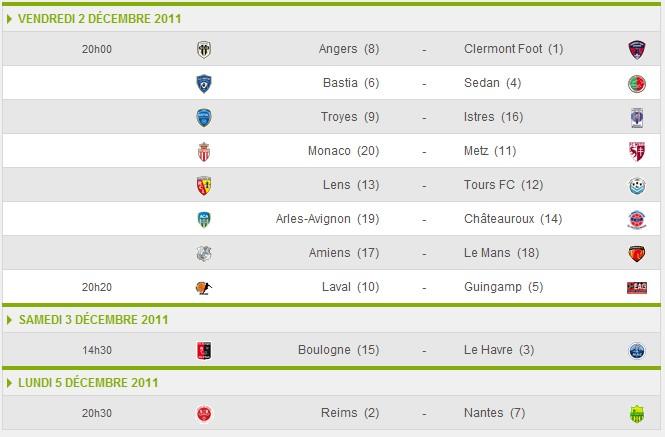 16ème journée Ligue_34