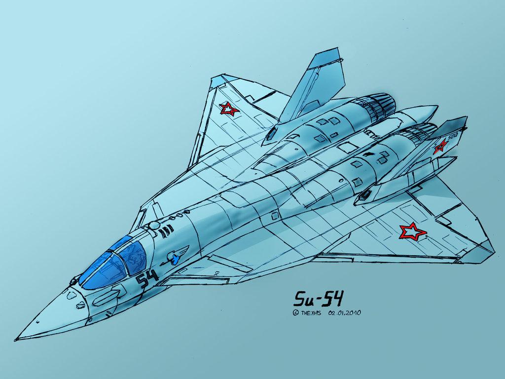 Hypothetical Su-34 sucessor based on Su-57 Galler10