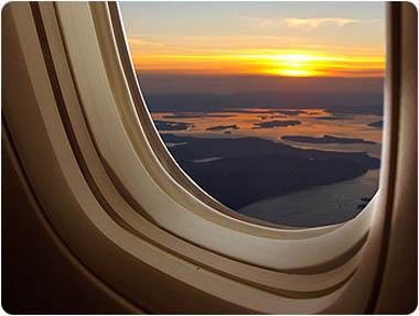 كيف تختار المقعد المناسب في الطائرة Sunset10