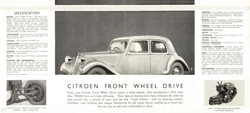 Traction Avant made in England Cl15-112