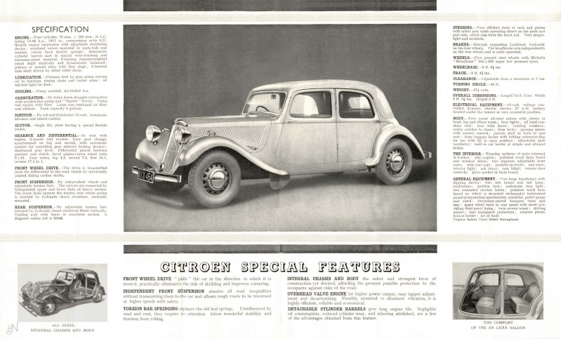 Traction Avant made in England Cl15-113