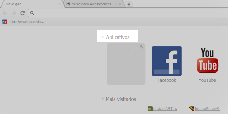 Aplicativo - Google Chrome  Appt11