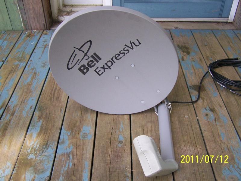 VENDU - Antenne ( coupole ) et Récepteur de BELL 100_1016