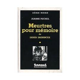 [Daeninckx, Didier] Meurtres pour mémoire Daenin10