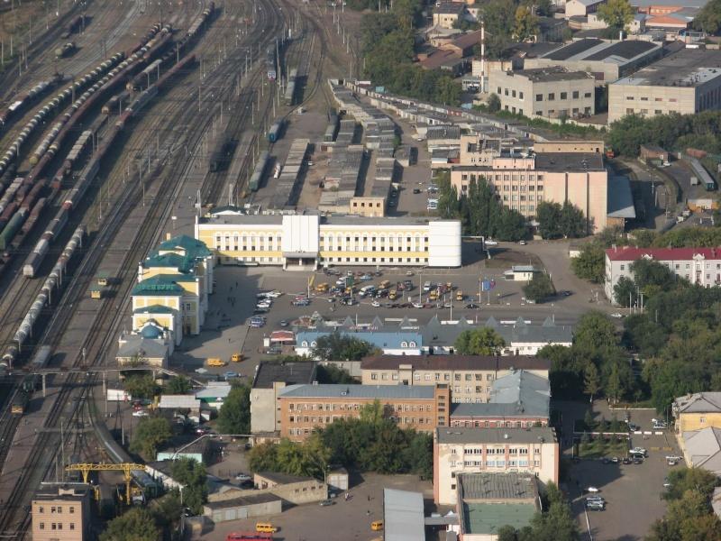 Вокзал города Оренбурга Zd10