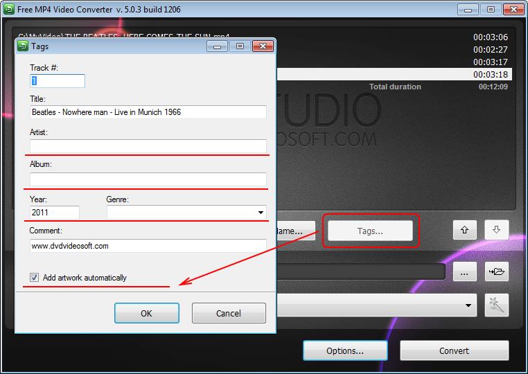 [Tuto/Information/Logiciel] Encoder vos vidéos, pour HD2 sur Android Free-m11
