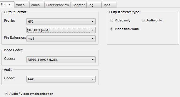 [Tuto/Information/Logiciel] Encoder vos vidéos, pour HD2 sur Android Xmedia12