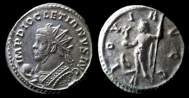 Aureliani de Lyon de Dioclétien et de ses corégents Anto_d10