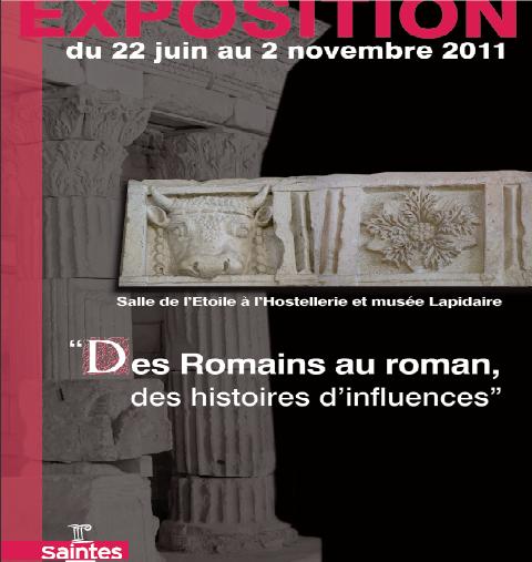 """""""Des Romains au roman - des histoires d'influences"""" Expo12"""