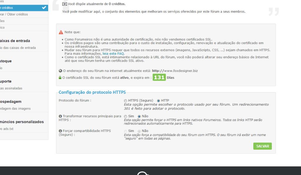Certificado SSL Desativando Sozinho 110