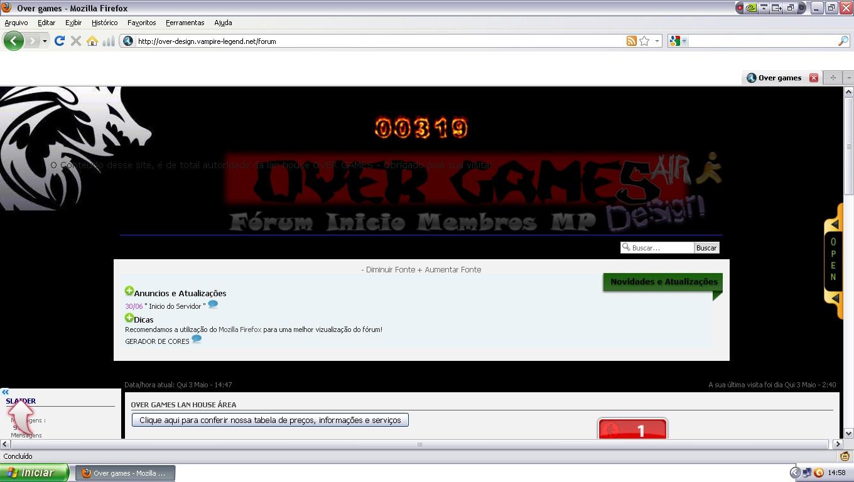 DICAS para meu forum Over_g10