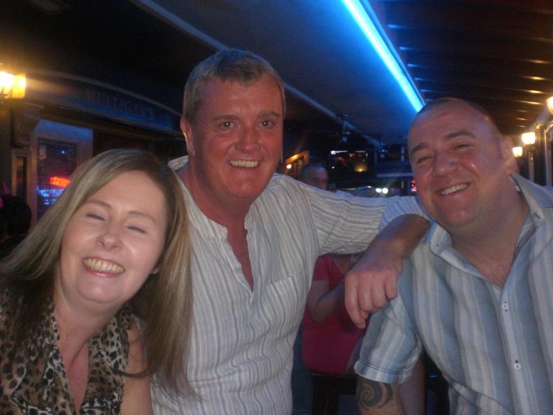 Daryn, Debbie, San & Mick's little pub crawl. 14410