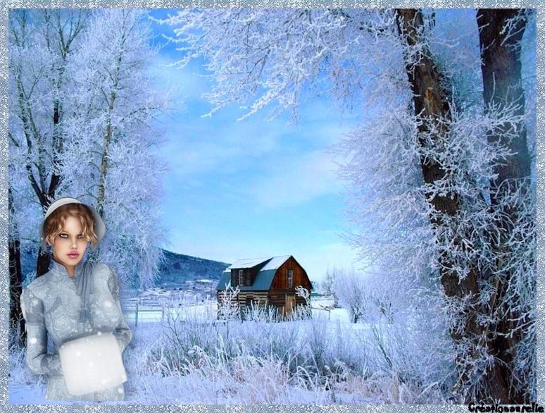 Noel bleu et blanc Bannie10