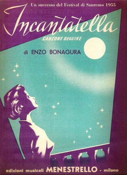 FESTIVAL DI SANREMO 1955: I CANTANTI - LE CANZONI - I TESTI 1955-i10