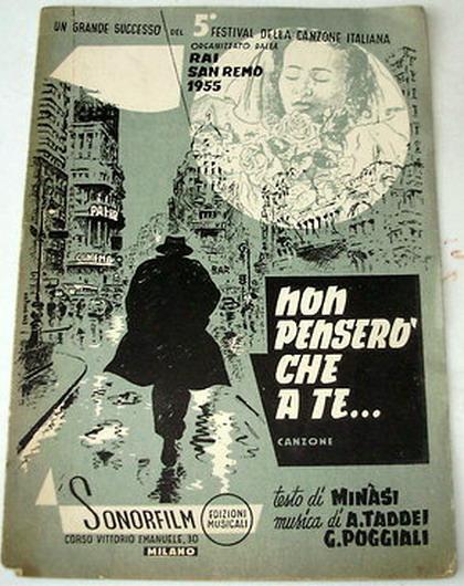 FESTIVAL DI SANREMO 1955: I CANTANTI - LE CANZONI - I TESTI 55_non10