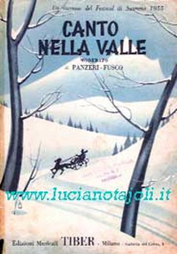 FESTIVAL DI SANREMO 1955: I CANTANTI - LE CANZONI - I TESTI Canton10