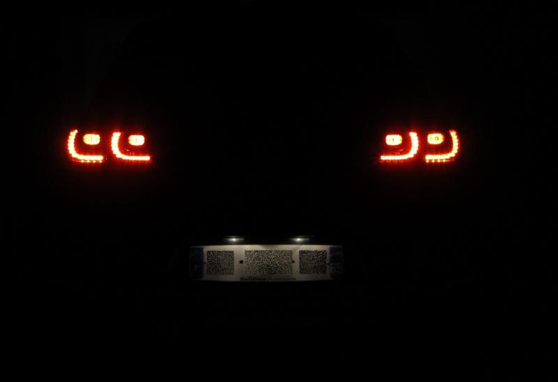 plaque - Petit cadeau pour les 2 ans de ma GTD : LED plaque arrière Img_1013