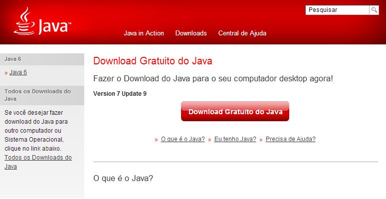Como saber se o jogo roda no seu pc Java11