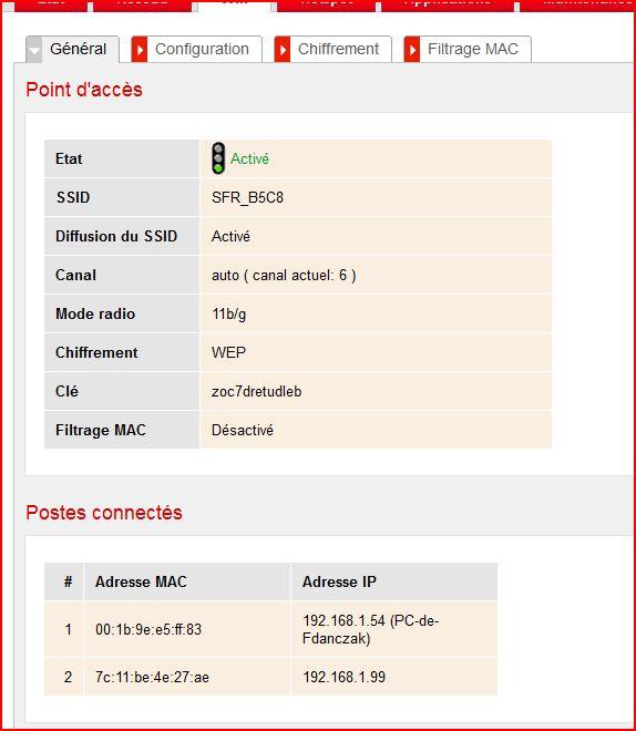 Lien 192.168.0.1 ne fonctionne pas (SFR Box Evo) 110