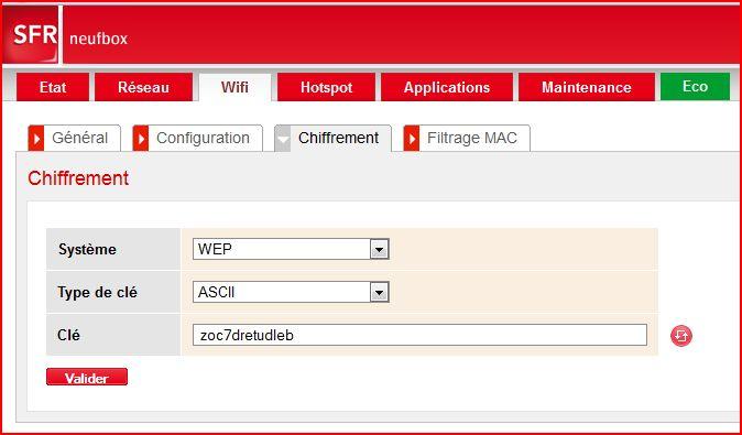 Lien 192.168.0.1 ne fonctionne pas (SFR Box Evo) 310