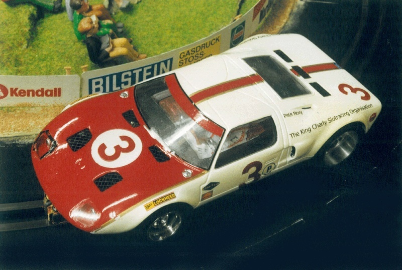K & B Ford GT, NASCup 2000/2001 Ford-g10