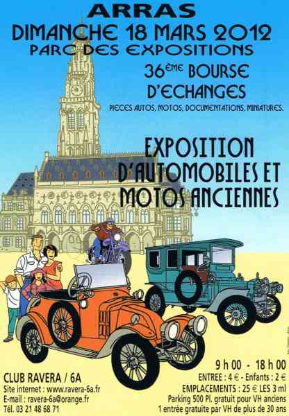 bourse expo a Arras Affich10