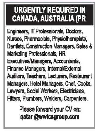 مطلوب اطباء وممرضين للعمل بكندا واستراليا G9006-13