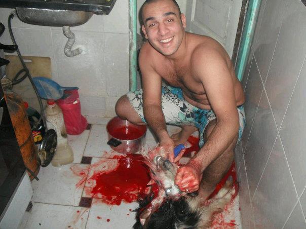 I COMMENTI ALLE FOTO SHOCK SEGNALATE.... SU FB...XD Capra10