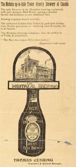 Montreal Brewing Co 11-19010