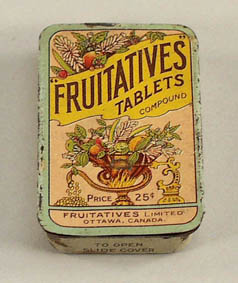 Fruit-A-Tives Pilules pour le foie Hull, PQ Mint in the box 991-1710