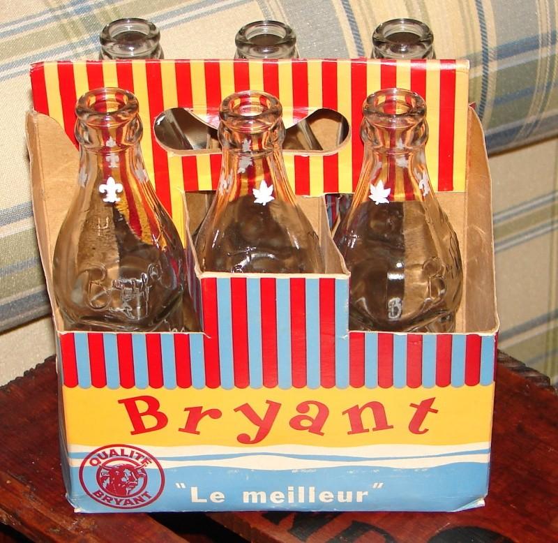 Bouteilles et carton 6-pack de Bryant Bryant10
