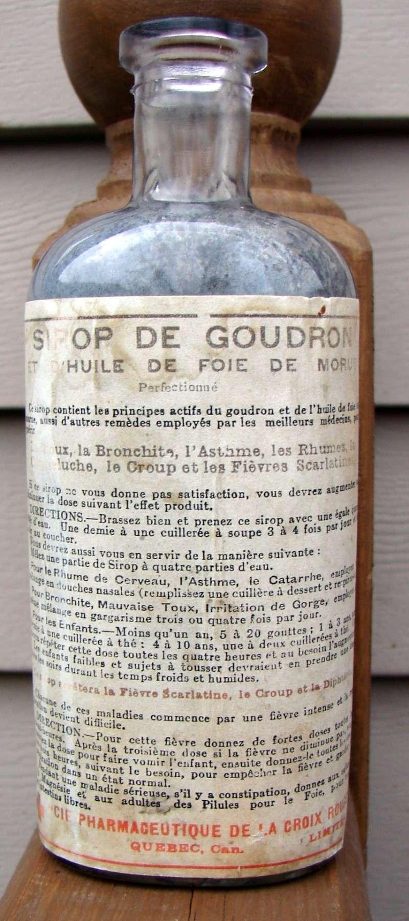 Sirop de goudron de la Cie Pharmaceutique de la Croix Rouge Croix_10