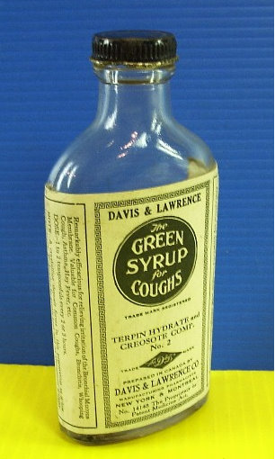 Green syrup for coughs de Davis & Lawrence Green_11
