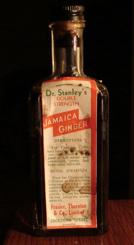 Jamaica Ginger & Elixir Gombault du Dr Grignon Jamaic10