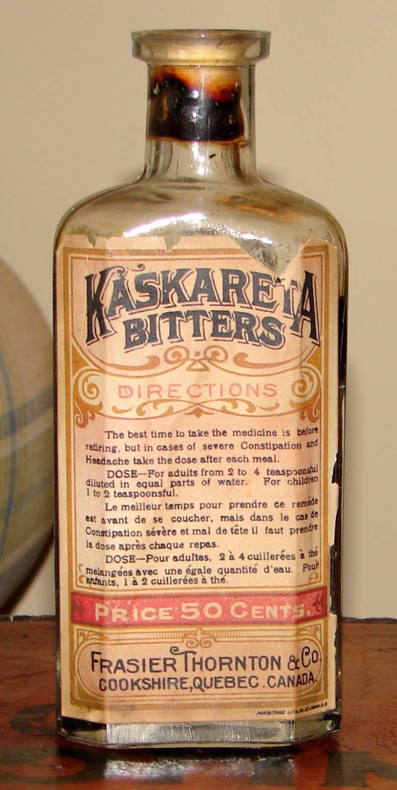 Kaskareta Bitters de Frasier Thornton Kaskar10