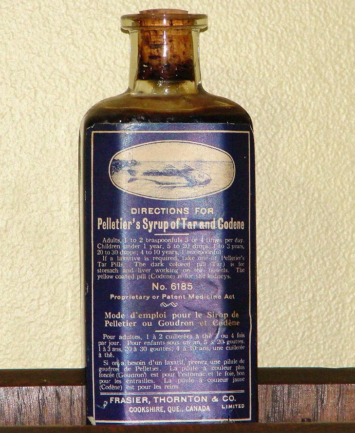 Le sirop de goudron et codène de Pelletier Pellet10