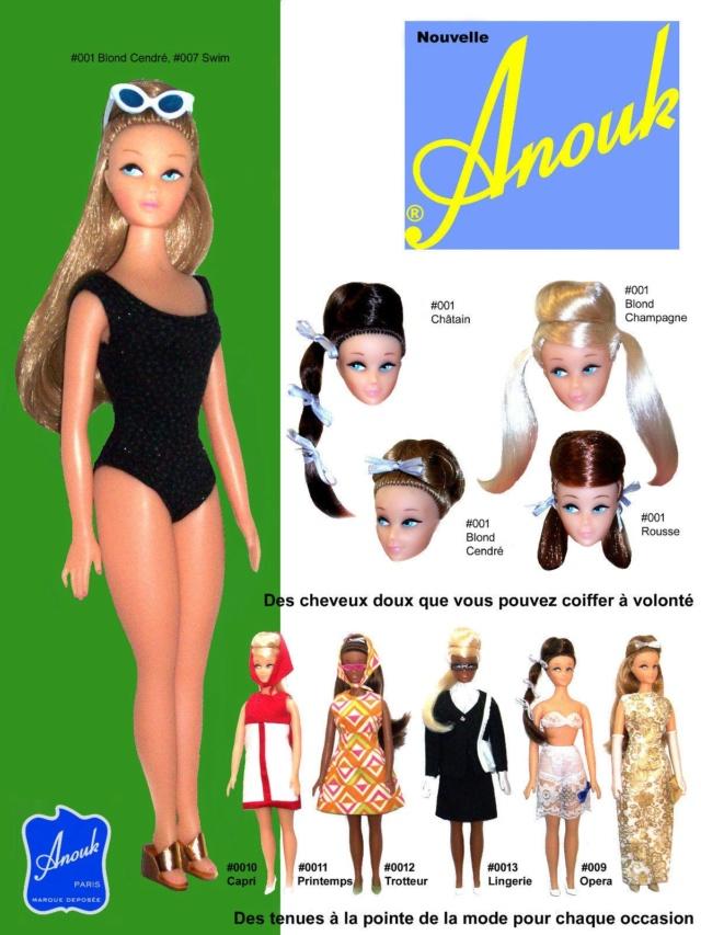 La poupée mannequin Caprice, et sa reproduction actuelle, Anouk 7ce0eb10